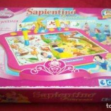 Juguetes antiguos y Juegos de colección: SAPIENTINO PRINCESAS DISNEY. Lote 142565974
