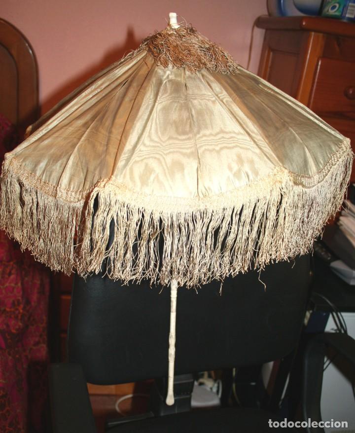 SOMBRILLA DE FINALES DE S. XIX PARA MUÑECAS DE PORCELANA (Juguetes - Vestidos y Accesorios Muñeca Extranjera Antigua)