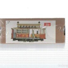 Juguetes antiguos y Juegos de colección: FIGURA/JUGUETE JAYA (CON PRECINTO EDITORIAL): TRANVIA SAN FRANCISCO MUNICIPAL RAILWAY (REPLICA P.... Lote 143319013