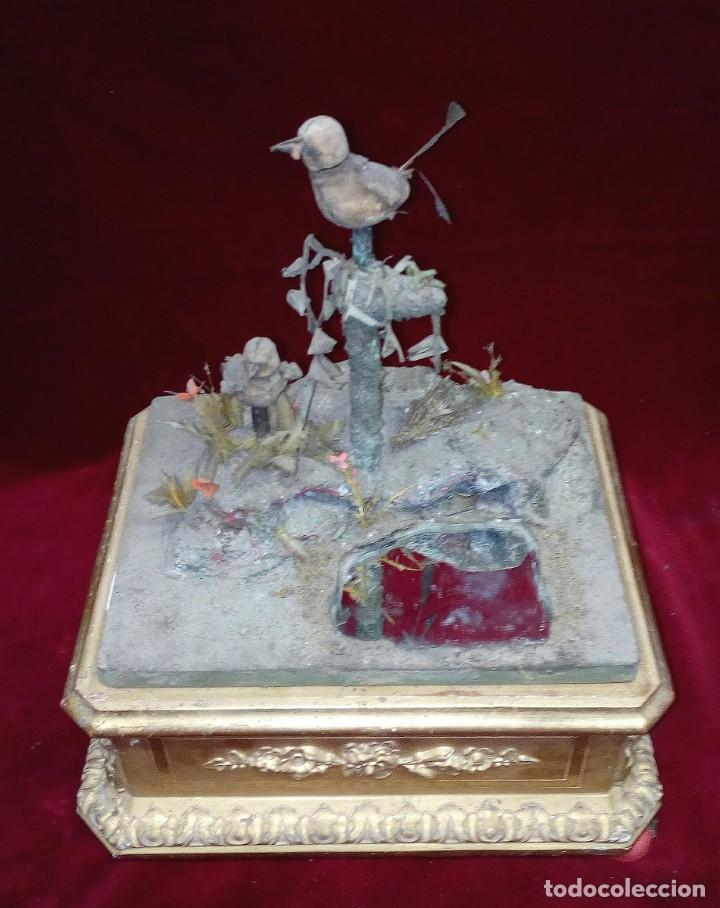Juguetes antiguos y Juegos de colección: Jaula autómata Blaise Bontems. S.XIX. - Foto 11 - 143397610