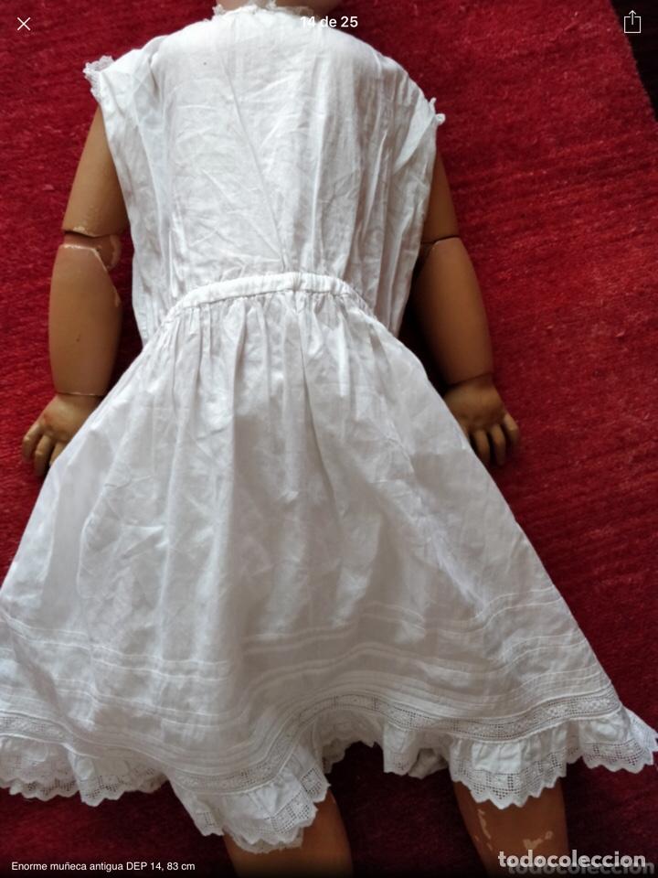 Juguetes antiguos y Juegos de colección: Vestido y enaguas antiguos para muñeca grande - Foto 2 - 143915469