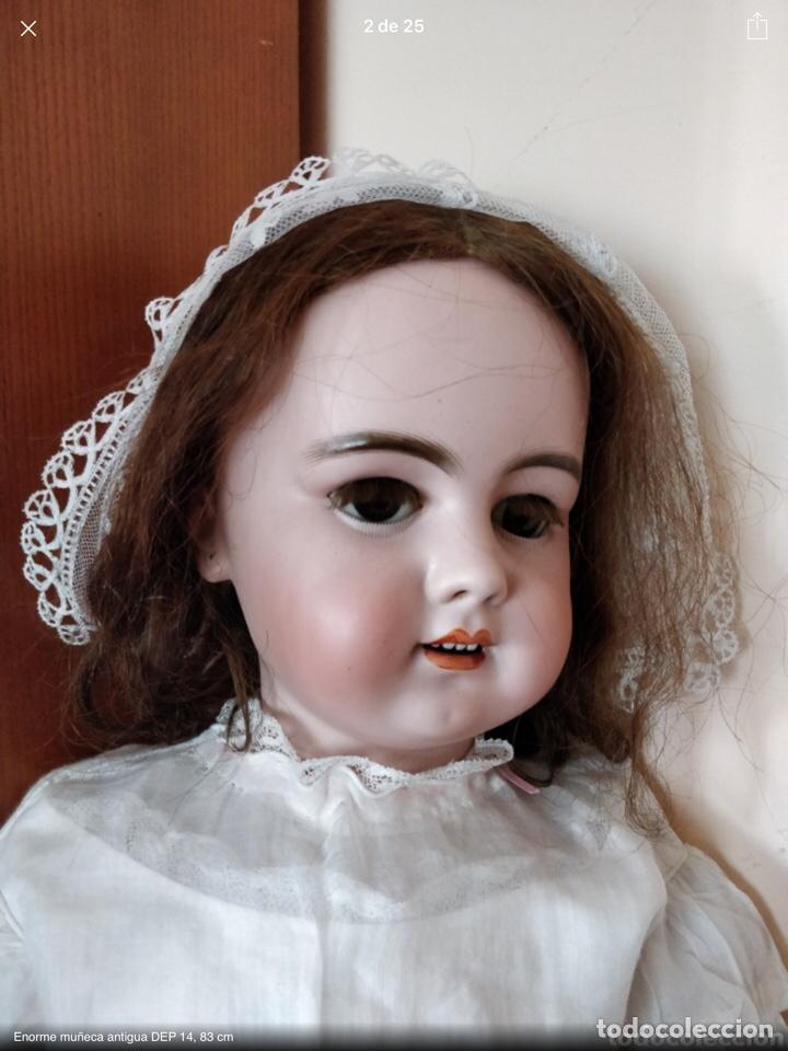 Juguetes antiguos y Juegos de colección: Gorro antiguo ideal para muñeca antigua - Foto 2 - 143916368