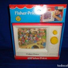 Juguetes antiguos y Juegos de colección: FISHER-PRICE- ANTIGUA CAJA MUSICAL FISHER PRICE AÑO 1986 FUNCIONANDO, VER FOTOS! SM. Lote 144059130