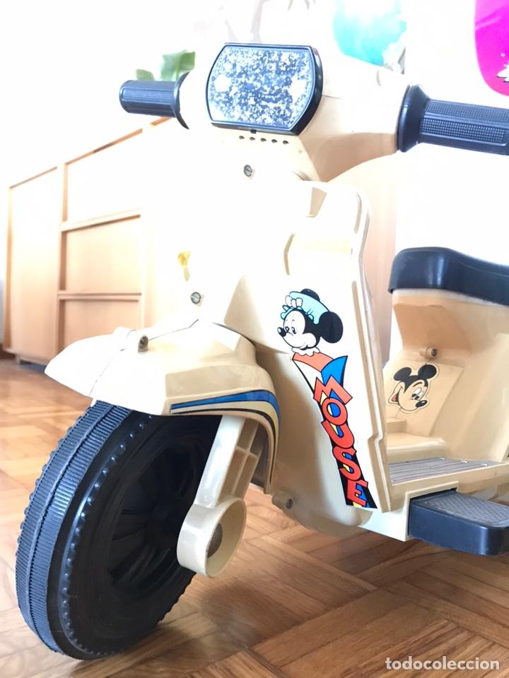 Juguetes antiguos y Juegos de colección: Moto Scooter de injusa walt disney Mickey mouse Minie - Foto 2 - 144614054