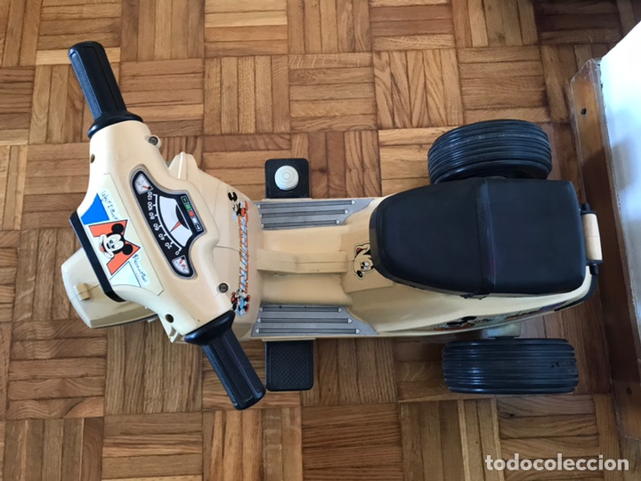Juguetes antiguos y Juegos de colección: Moto Scooter de injusa walt disney Mickey mouse Minie - Foto 6 - 144614054