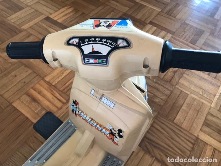 Juguetes antiguos y Juegos de colección: Moto Scooter de injusa walt disney Mickey mouse Minie - Foto 9 - 144614054