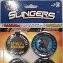 Juguetes antiguos y Juegos de colección: SLINGERS EN SU BLISTER ORIGINAL 2011. Lote 144731860