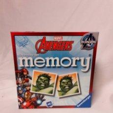 Juguetes antiguos y Juegos de colección: JUEGO MEMORY AVENGERS MARVEL. Lote 146813046