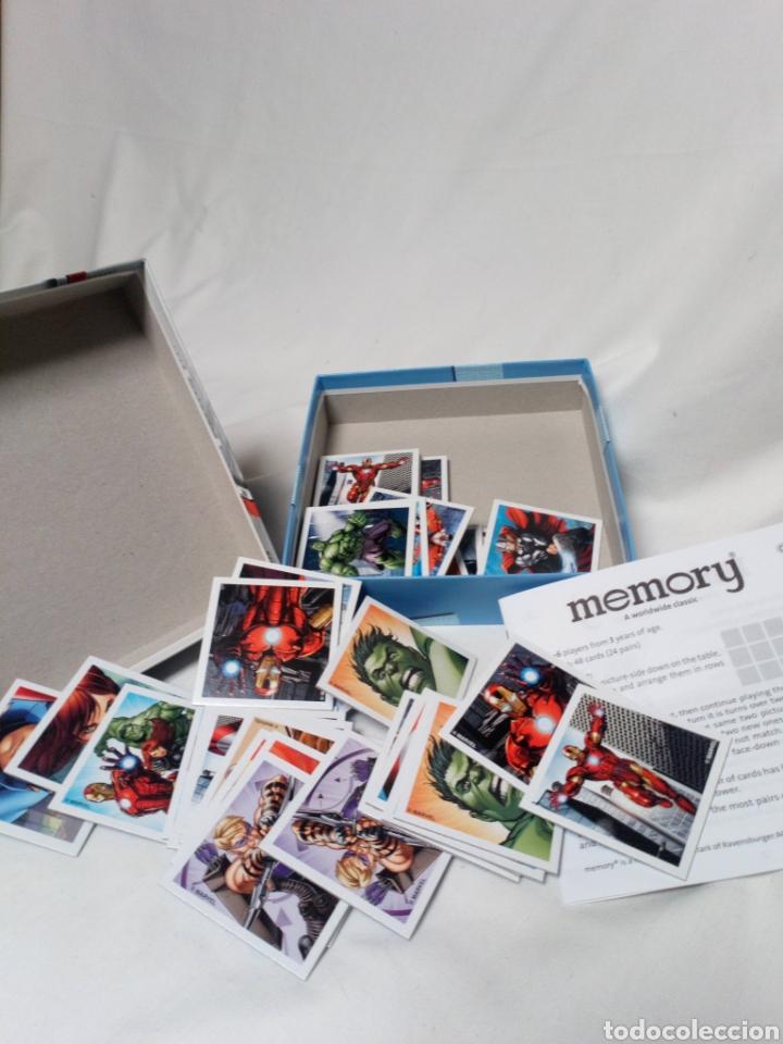 Juguetes antiguos y Juegos de colección: Juego Memory Avengers Marvel - Foto 2 - 146813046