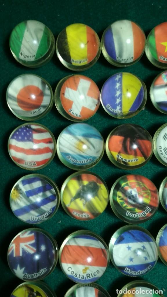 Juguetes antiguos y Juegos de colección: LOTE 28 PELOTAS SALTARINAS GOMA 32MM SERIE BANDERAS DEL MUNDO TODAS DISTINTAS. VER FOTOS - Foto 2 - 147531590