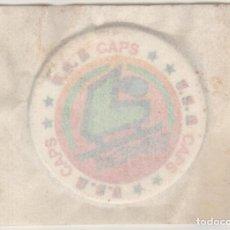Juguetes antiguos y Juegos de colección: COLECCIÓN TAZOS BIMBO LA PANDILLA BIMBO U.S.A USA CAPS TAZO 6 ICE HOCKEY DEPORTES SPORTS HIELO. Lote 147568294