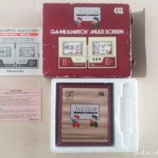 Juguetes antiguos y Juegos de colección: CGL!!!!!! GAME AND WATCH CGL!!! MARIO BROS!!!. Lote 147761582
