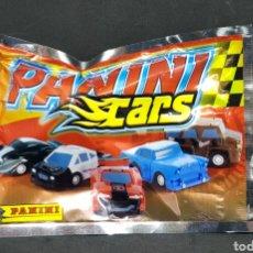 Juguetes antiguos y Juegos de colección: SOBRE SIN ABRIR - CARS - PANINI - CAR01. Lote 148591102