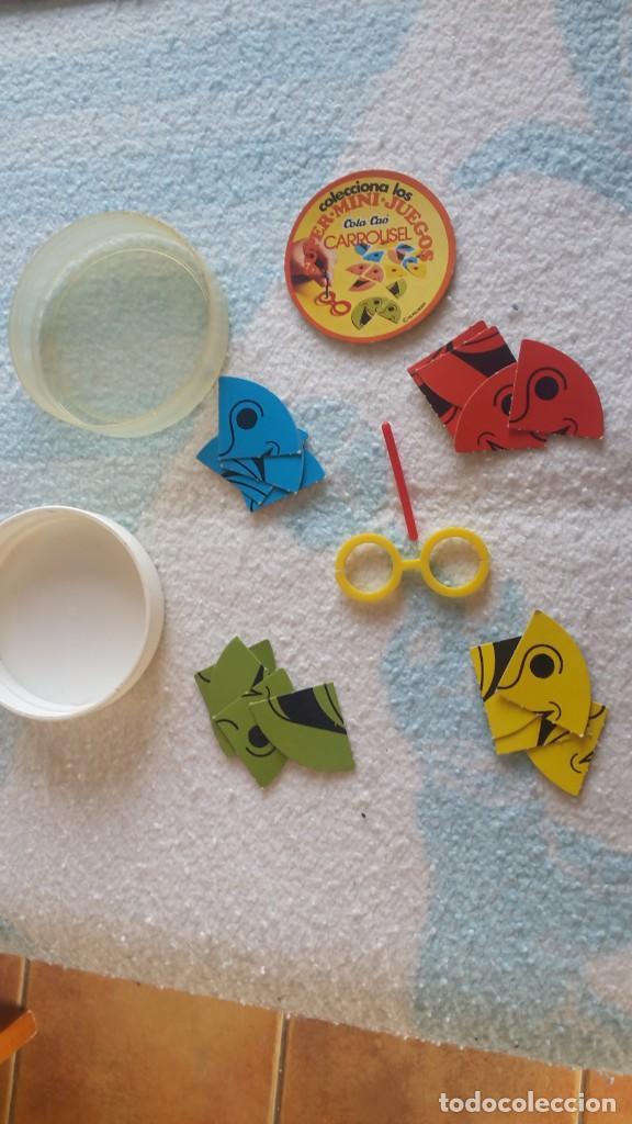 Juguetes antiguos y Juegos de colección: Super mini juegos Cola cao Carrousel - Foto 2 - 149247226