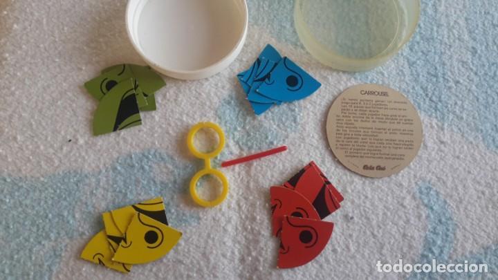 Juguetes antiguos y Juegos de colección: Super mini juegos Cola cao Carrousel - Foto 3 - 149247226