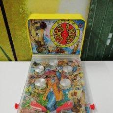 Juguetes antiguos y Juegos de colección: FLIPPER JUNIOR BILLARÍN ELECTRICO DE RIMA. PINBALL CORSARIOS. JUGUETE VINTAGE ANTIGUO. Lote 150289338