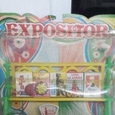 Juguetes antiguos y Juegos de colección: BLISTER EXPOSITOR DE JUGUETE VINTAGE. Lote 150304518