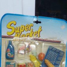 Juguetes antiguos y Juegos de colección: BLISTER SUPER MARKET JUGUETE VINTAGE. Lote 150308585