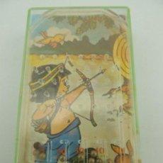 Juguetes antiguos y Juegos de colección: VINTAGE JUEGO FLIPPER INFANTIL INDIOS AÑOS 70-80 BUEN ESTADO RARO. Lote 150503794