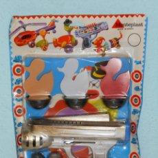 Brinquedos antigos e Jogos de coleção: PISTOLA DE BOLAS TIRO AL PATO - MONTEPLAST - HECHO EN ESPAÑA. AÑOS 70.. Lote 150687074