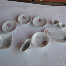Juguetes antiguos y Juegos de colección: VAJILLA DE LOZA MINIATURA. Lote 150697282