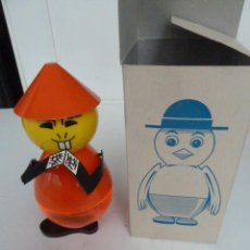 Juguetes antiguos y Juegos de colección: HUCHA CHINITO VILPA AÑOS 70 NUEVA EN SU CAJA ORIGINAL. Lote 151540178
