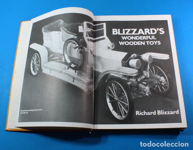 Curioso Libro Para Construir Juguetes De Madera Blizzards Wonderful Wooden Toys 224 Pag 1983