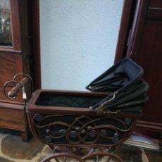 Juguetes antiguos y Juegos de colección: COCHECITO DE MADERA . Lote 151699622