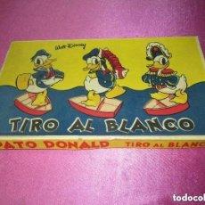 Juguetes antiguos y Juegos de colección: JUGUETE ANTIGUO PATO DONALD DISNEY TIRO AL BLANCO. Lote 151775814