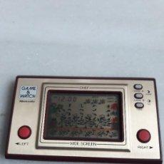 Juguetes antiguos y Juegos de colección: GAME & WATCH CHEF. Lote 151506046