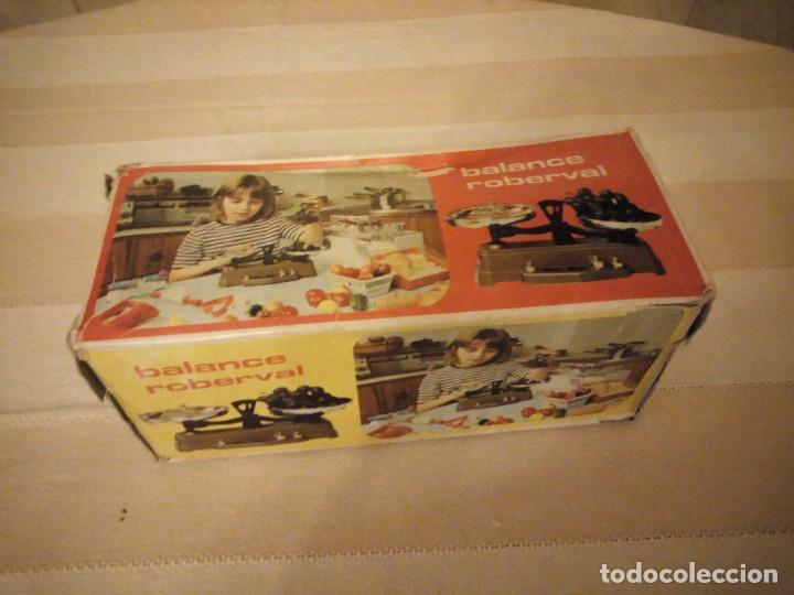 Juguetes antiguos y Juegos de colección: ,balanza ,balance roberval jouet waage mob. made in france,en caja original.años 70 - Foto 4 - 151873478