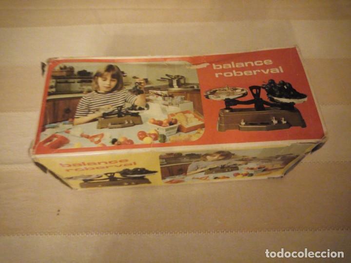 Juguetes antiguos y Juegos de colección: ,balanza ,balance roberval jouet waage mob. made in france,en caja original.años 70 - Foto 5 - 151873478