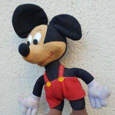 Juguetes antiguos y Juegos de colección: ANTIGUO MUÑECO MICKEY MOUSE DE WALT DISNEY PRODUCTIONS. Lote 151898010
