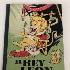 Juguetes antiguos y Juegos de colección: BIBLIOTECA DE LA INFANCIA: EL REY LEON. GERONA. Lote 151921114
