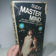 Juguetes antiguos y Juegos de colección: SUPER MASTER MIND JUEGO DE MESA DE HABILIDAD/INTELIGENCIA. Lote 152587942