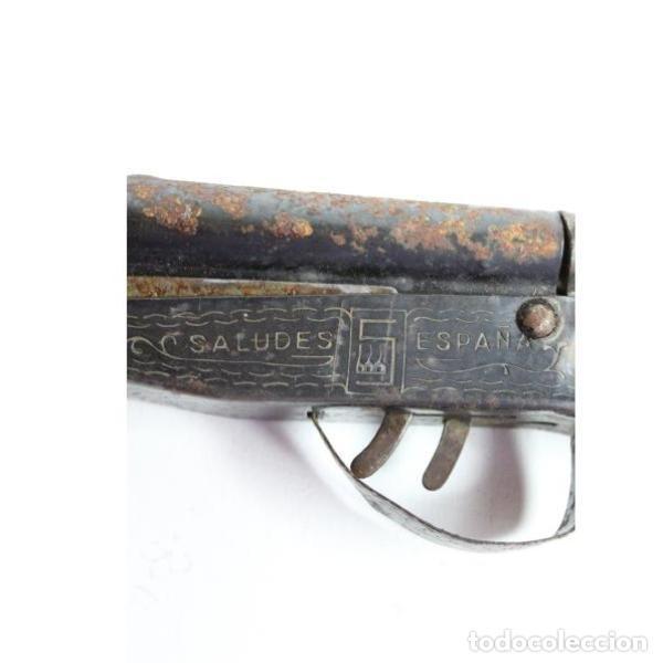 Juguetes antiguos y Juegos de colección: Antigua escopeta de juguete Saludes modelo jefe - Foto 3 - 154134082