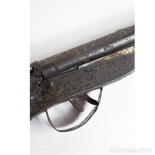 Juguetes antiguos y Juegos de colección: Antigua escopeta de juguete Saludes modelo jefe - Foto 4 - 154134082