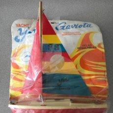 Juguetes antiguos y Juegos de colección: YATE GAVIOTA. Lote 154304410
