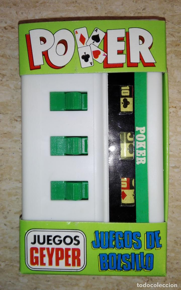 Juego de bolsillo geyper - poker - Sold at Auction - 154807050