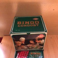Juguetes antiguos y Juegos de colección: ANTIGUO BINGO CONGOST NUEVO. Lote 158333924
