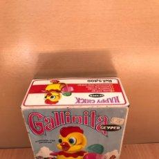 Juguetes antiguos y Juegos de colección: ANTIGUO JUGUETE GALLINITA, DE GEYPER - AÑOS 70 - CAJA. Lote 158337124