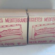 Juguetes antiguos y Juegos de colección: PIANOS MEDITERRÁNEOS. Lote 158446393