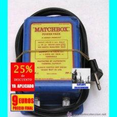 Juguetes antiguos y Juegos de colección: TRANSFORMADOR MATCHBOX - POWER PACK - AÑOS 60 - V. DETALLES - 110 VOLTIOS A 10 VOLTIOS - 9 EUROS. Lote 158758510