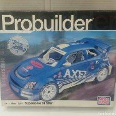 Juguetes antiguos y Juegos de colección: PROBUILDER SUPERSONIC GT SRA. MEGA BLOKS. NUEVO EN CAJA. INTERIOR PRECINTADO. 154 PIEZAS. REF 3265.. Lote 158909244