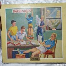 Juguetes antiguos y Juegos de colección: IMPRENTILLA IMPRESORES JUNIOR AÑOS 60. Lote 159246920