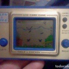 Juguetes antiguos y Juegos de colección: LCD MAQUINITA PLAY & TIME EAGLE CHICKEN FUNCIONANDO GAME WATCH HONG KONG. Lote 159392058