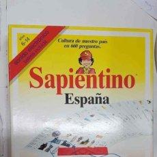 Juguetes antiguos y Juegos de colección: JUEGO DE MESA: SAPIENTINO ESPAÑA - CLEMENTONI. JUEGO DE PREGUNTAS. SONIDO ELECTRONICO CON BATERI.... Lote 159518625