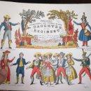Juguetes antiguos y Juegos de colección: CUADERNO DE RECORTABLES CON PARTITURAS INCLUIDAS DEL AÑO 1973. Lote 160332310
