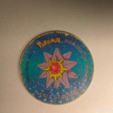 Juguetes antiguos y Juegos de colección: TAZO POKEMON -- POKEMON AÑO 1998 -- Nº 127 -- STARMIE. Lote 161696138