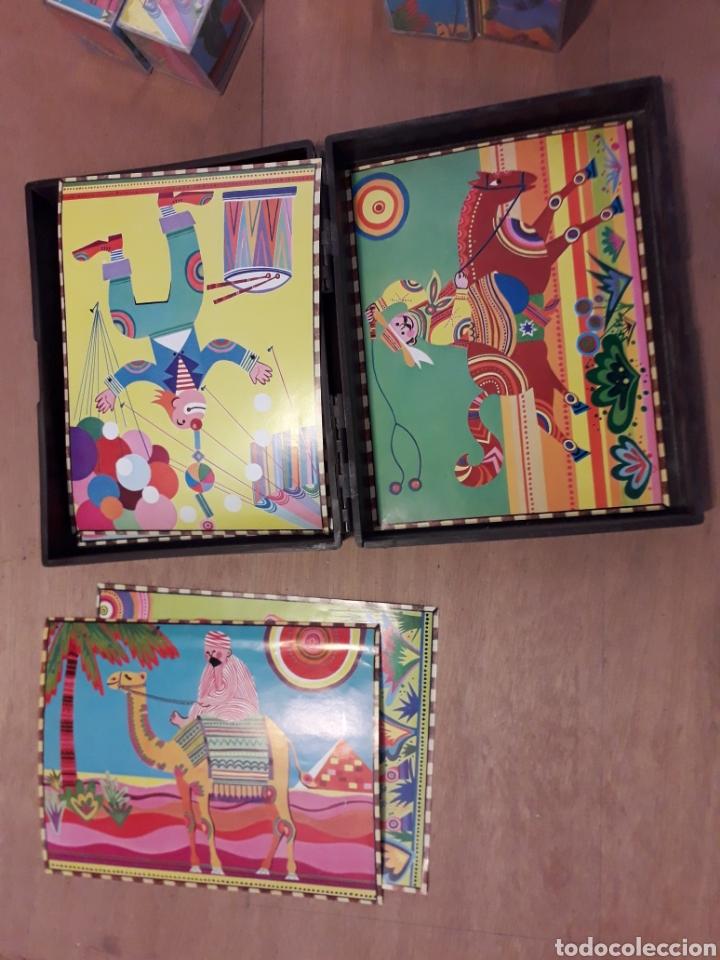 Juguetes antiguos y Juegos de colección: Rompecabezas Maxims cubos lavables 19 cm - Foto 4 - 162445068